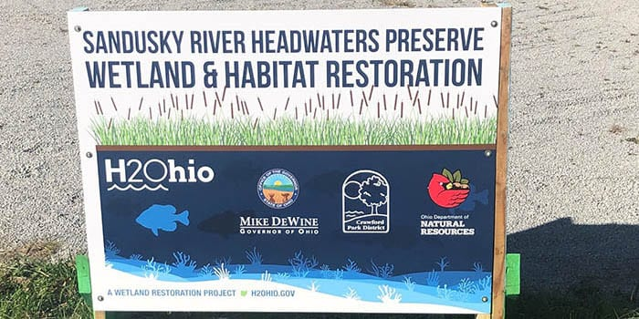 H2Ohio Forges Ahead with Sixth Wetland Project of 2020